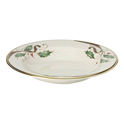 Lenox Holiday Nouveau Gold Pasta/Rim Soup Bowl