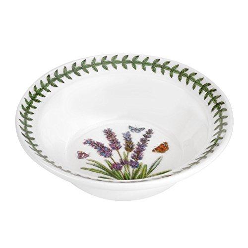 Portmeirion Botanic Garden Lavender Motif Oatmeal-Soup Bowl