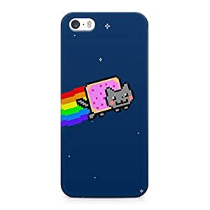 Nyan Cat Hard Plastic Snap-On Case Cover For iPhone 5 and iPhone 5s