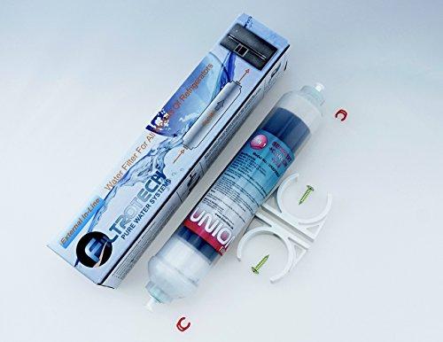 FIB-1. Kühlschrankfilter (3in1) Wasserfilter für Kühlschrank Samsung, LG, AEG, Siemens, GE, Daewoo, Haier usw. externer Filter für Side by Side. Filterkartusche (SED+GAC+FIB) NEUHEIT!