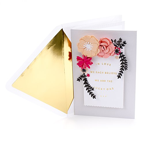 Hallmark Signature Valentines Day Greeting Card for Romantic Partner (Lucky One)