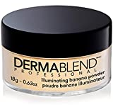 Dermablend Illuminating Banana Powder, Loose Setting Powder, 0.63 Oz
