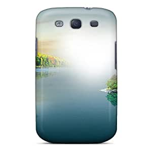 Premium Beginnings Of Autumn Back Cover Snap On Case For Galaxy S3