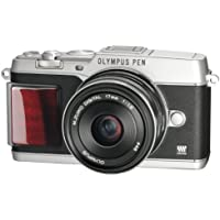 OLYMPUS mirror interchangeable lens PEN E-P5 17mm F1.8 Lens Kit (view finder VF-4 set) Silver Premium model E-P5 17mm F1.8 LKIT SLVPR
