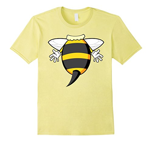 Toddler Honey Lemon Costume (Mens Funny Honeybee Costume Shirt - Hilarious Bee Halloween Gift 3XL Lemon)