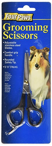 Four Paws 5.5 Inch Dog Grooming Scissors](Four Paws Grooming Scissors)