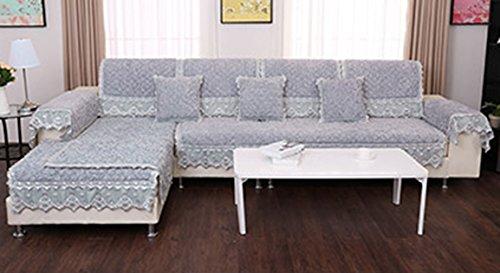 Rosas bordadas - cojín del sofá gris, cojín antideslizante ...