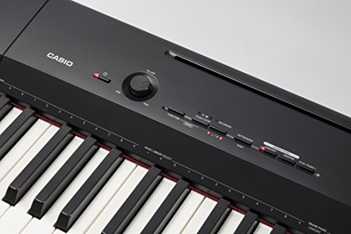 casio privia px 160bk 88 key full size digital piano with power supply black buy online in. Black Bedroom Furniture Sets. Home Design Ideas