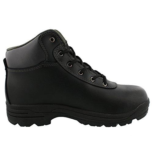 Mountain Växel - Mens Svart Tyg Boots Svart