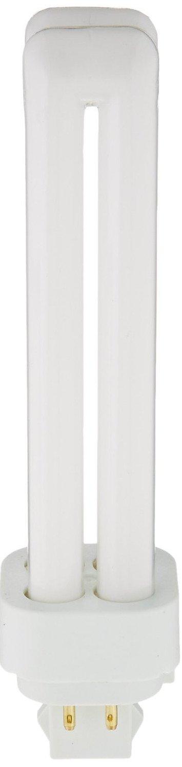 Sylvania 20683 (4-Pack) 18-Watt Double Tube Compact Fluorescent Light Bulb, 2700K, 1150 Lumens, 82 CRI, T4 Shape, 4-Pin G24q-2 Base