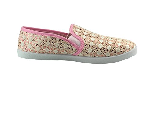 Pink Rose 36 Femme Fashion4young Mocassins Multicolor Pour tUSwwaq0