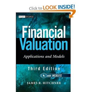 Financial Valuation, + Website: Applications and Models (Wiley Finance 3rd (Third) Edition