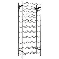 """Rack para vino Alexander de Oenophilia - 40 botellas, construcción de metal resistente, sin tambalear, mide 39.5 """"Alt. X 15"""" An. X 8 """"P"""