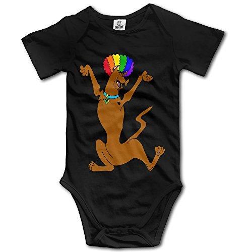 nalized Baby Boys' & Girls' Short Sleeve Romper (Scooby Doo Romper)