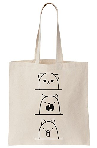 Canvas Bag Meme Cuteness Adorable Expression Tote Faces qTPnwZYI