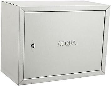 Caja galvanizada de acero inoxidable para contadores de agua – Distintos tamaños, acero galvanizado.: Amazon.es: Bricolaje y herramientas