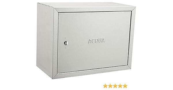 Cassette Cerrado O Inoxidable Para Contadores de Agua-Todas Las Medidas Acero Galvanizado Revestimiento de Zinc