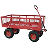 Northern Industrial Tools Jumbo Wagon - 48in.L x 24in.W, 1400-Lb. Capacity
