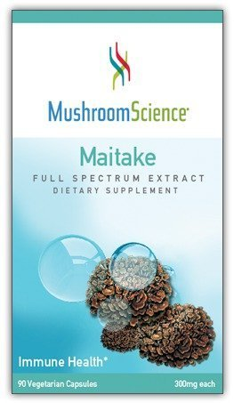 - Mushroom Science, Maitake, Full Spectrum Extract, 300 mg, 90 Veggie Caps