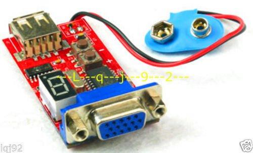 FidgetFidget VGA Signal Generator board For LCD & CRT test tool 15 Signal Output Dual Power by FidgetFidget (Image #3)