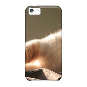 New Cat Hd Wallpaper Tpu Case Cover, Anti-scratch KayGY Phone Case For Iphone 5c