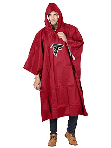 The Northwest Company Officially Licensed NFL Atlanta Falcons Deluxe Poncho
