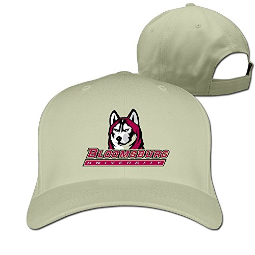 Pennsylvania Bloomsburg ajustable Moda Natural para of University gorro hombre wfpvIq