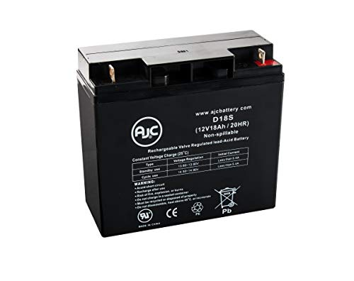 - Power Rite PRB1218-F2 Sealed Lead Acid - AGM - VRLA Battery - This is an AJC Brand Replacement