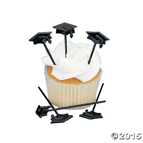 - 72 Pc Graduation Cupcake or Appetizer Picks