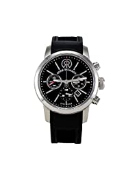 METRO - Lifestyle - Automatic 3 Hands Date Chronograph 44mm with Leather strap