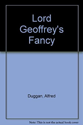 book cover of Lord Geoffrey\'s Fancy