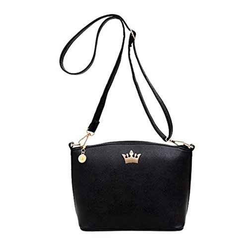 Casual Imperial Crown Handbags Party Purse Women Shoulder Messenger Bags by VESNIBA