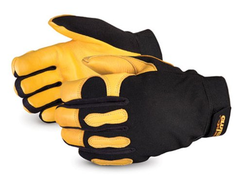 [Superior MXGDFL Clutch Gear Deerskin Leather Winter Lined Mechanics Glove, Work, X-Large, Black (Pack of 1 Pair)] (Deerskin Winter Lined Glove)