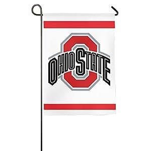 Ohio Estado Universidad Logo bandera de patio jardín bandera