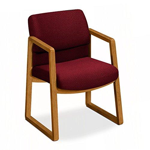 HON HON2403CAB62 2400 Series Guest Chair, Burgundy AB62 by HON