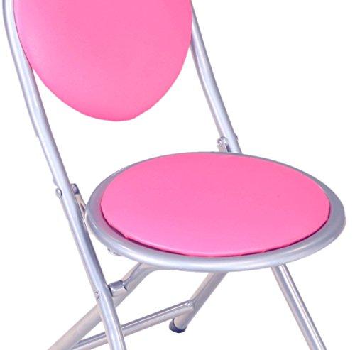 Frenchi Home Furnishing Kids Metal Folding Chair Pink