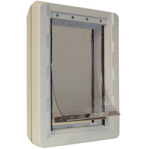 Ideal Pet Products 15-by-23.5-Inch Super-Large Ruff-Weather Pet Door with Telescoping Frame by Ideal Pet Products