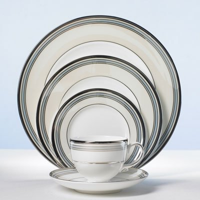 (Wedgwood Lustreware Pacific Stripe Saucers Only)