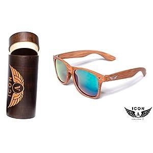 Limited Edition UNISEX, ICON-A,Sunglasses,Unique lens color Light&unbreakable.