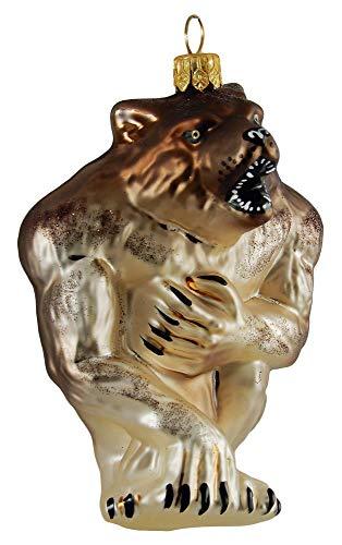 Werewolf Monster Mythical Polish Glass Halloween Christmas Ornament