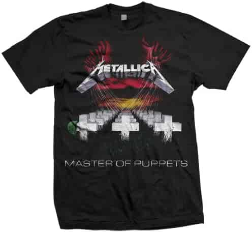 Bravado Men's Metallica-Master Of Puppets T-Shirt