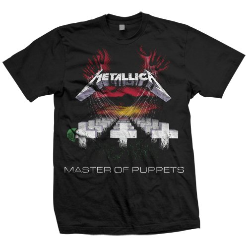 Men's Metallica Master Of Puppets T-Shirt - S to XXL