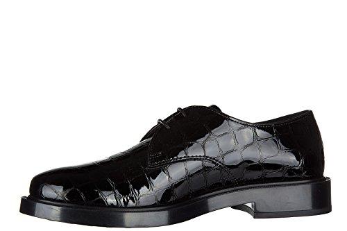 Tods Damenschuhe Leder Damen Business Schuhe Schnürschuhe Gummi allacciata derb