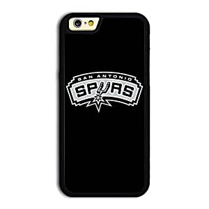 Hard iPhone 6 case protective skin cover with NBA San Antonio Spurs Logo #1