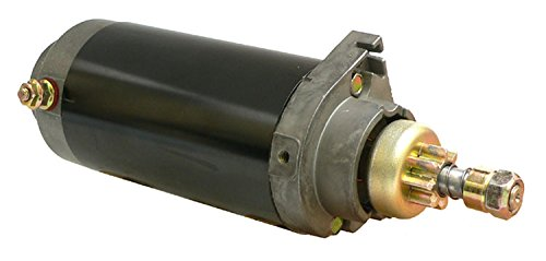 DB Electrical SAB0079 New Starter For Mercury Mariner Outboard 75 90 100 110 115 125 Hp 1989-2004, 50-66015-1, 50-66015-3, 50-66015T, 5392 Mot3004 18-5610 4886540-M030Sm, Sm48865 2-2413-UT 5736N