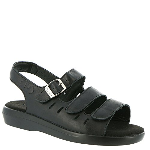 Propet BREEZE WALKER Women's Sandal 9 4A US Black by Propét