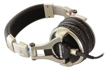 Brand New Shure | World-Class Full-Range Audio Performance, High Impedance and Maximized Power Handling, Enhanced Frequency, Maximized Power Handling, SRH750DJ, DJ Headphones