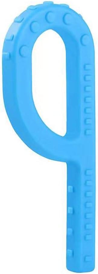 PENG Silicona P en Forma de Grabber Kids Mordedores Juguete para la dentici/ón para ni/ños Autism Chew