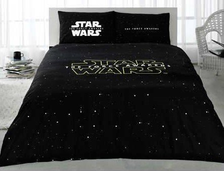 The Force Awakens Star Wars Licensed 100% Cotton 4pcs Full - Queen Size Bedding Linens - Star Wars Sheet 100 Cotton