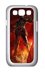 3D Angry Soldiers Custom Hard Back Case Samsung Galaxy S3 SIII I9300 Case Cover - Polycarbonate - White